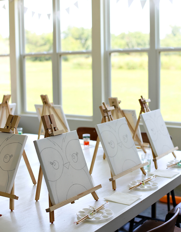 Host Your Own Kids Paint Party