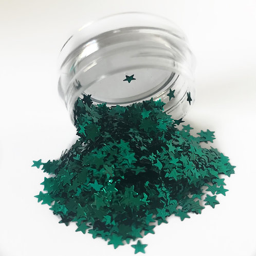 EMERALD GREEN STARS