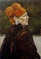 Femme Rousse ( Huile sur bois 48x34).jpg