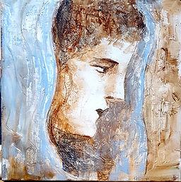 Grecque ( Huile sur toile 60 x 60 ).jpg