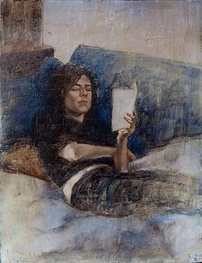 Anne-Laure 4 ( Huile sur toile 65x50).jp