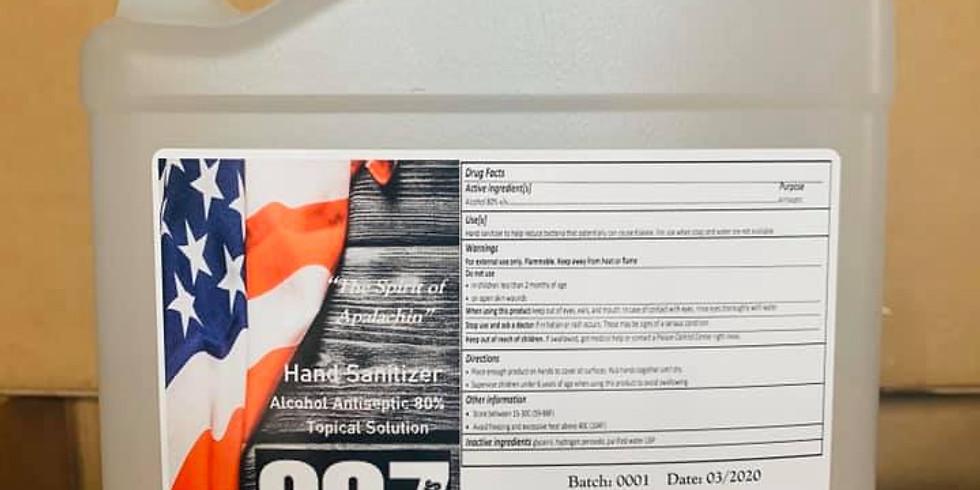 Hand Sanitizer- Final Sales-May 2020