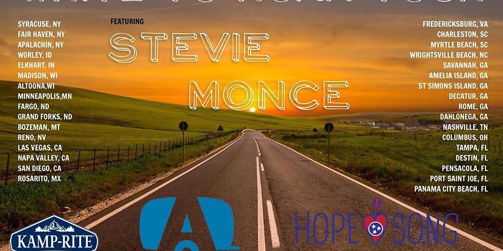 Stevie Monce Write to Roam Tour