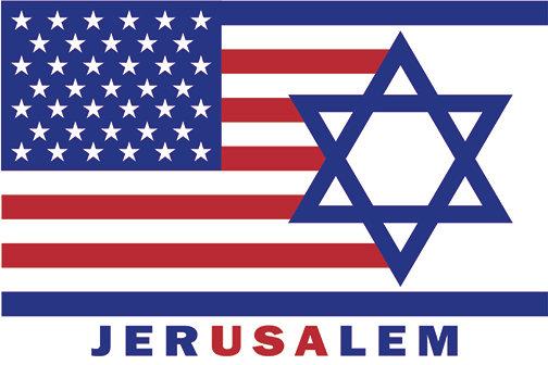 JERUSALEM -  Car Magnet 12x18