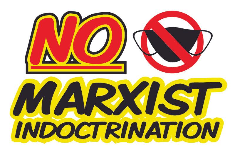 No Marxist -  Car Magnet 11x17