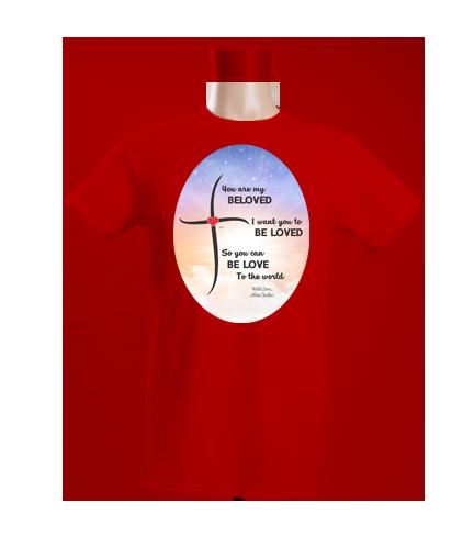 Beloved One Side Crew Neck T-Shirt