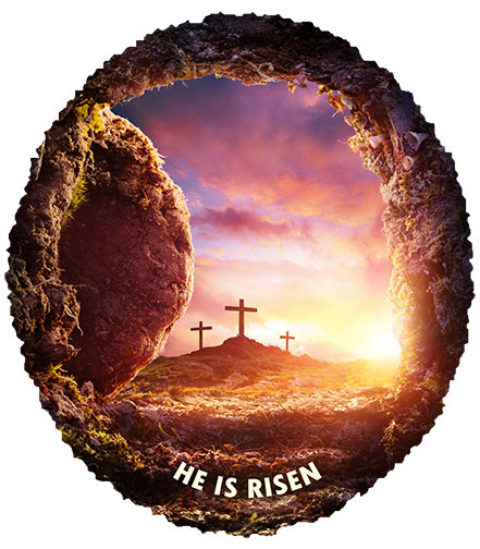 T-Shirt - He is Risen