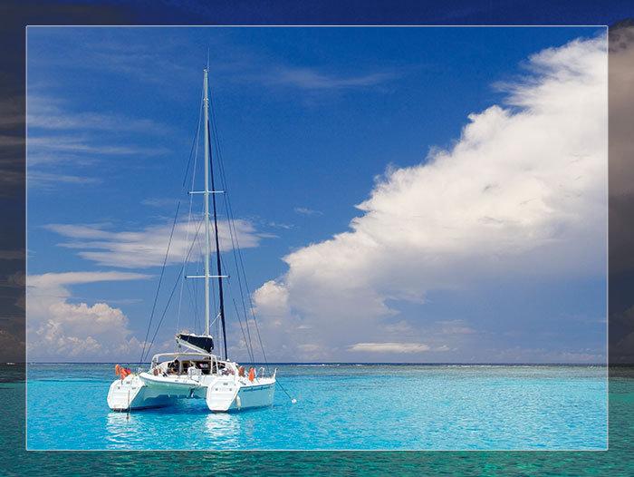 3'x4' Vinyl Banner - Catamaran