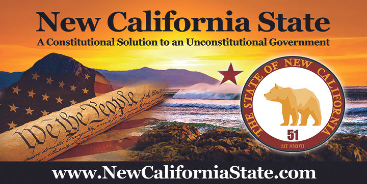 New California State Car Magnet 12x24