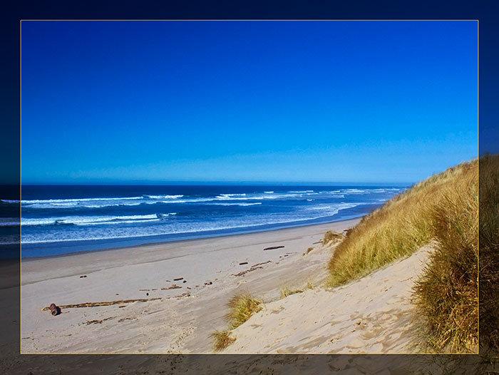 3'x4' Vinyl Banner - Ocean Dunes