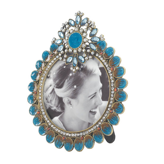Royal Peacock Photo Frame