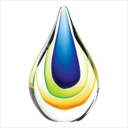 Art Glass Teardrop