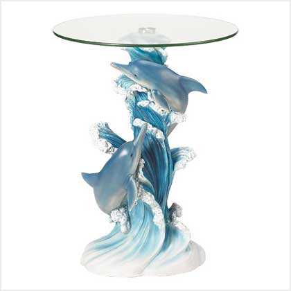 Dolphins Accent Table