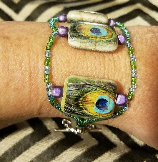 """""""HOLY PEACOCK"""" Bracelet"""