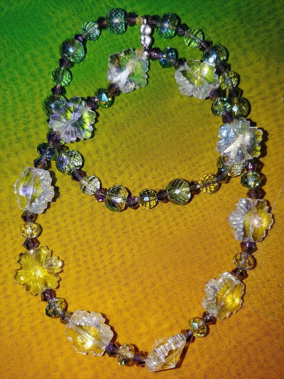 """CRYSTAL SEA OF LOVE"" Throne Room Worship Bracelet"