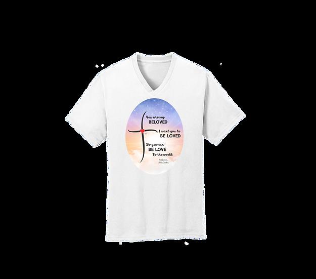 Beloved Two sided V-Neck T-Shirt