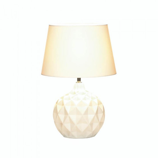 Geometric Round Table Lamp