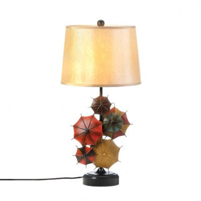 Colorful Umbrella Table Lamp