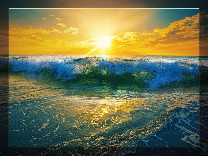3'x4' Vinyl Banner - Ocean