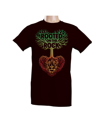 T-Shirt - Rooted on the Rock