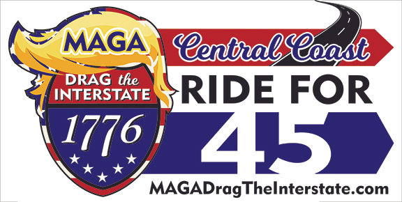 MAGA DRAG THE INTERSTATE #1 Car Magnet 12x24