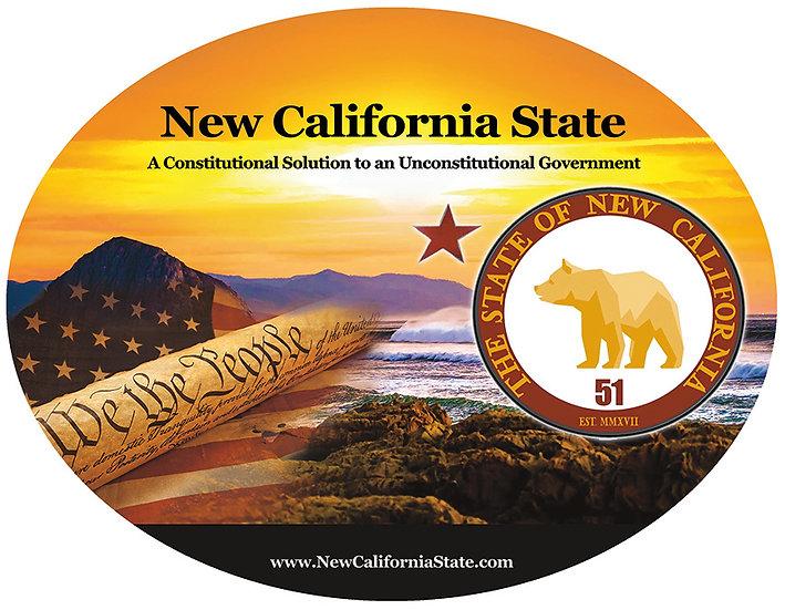 New California State T-Shirt