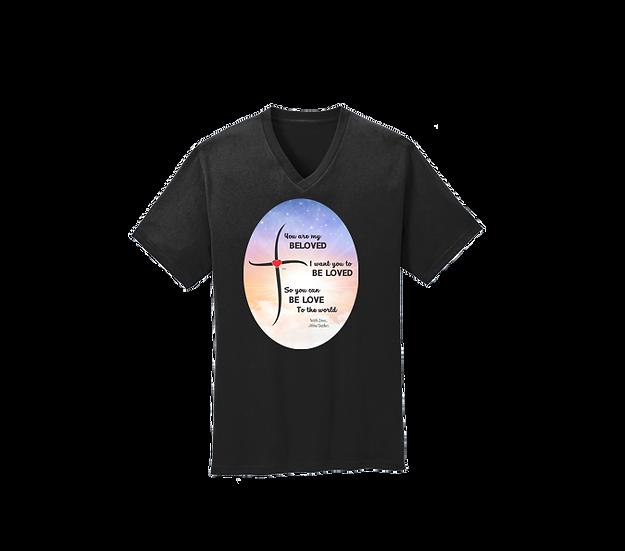 Beloved One Side V-Neck T-Shirt