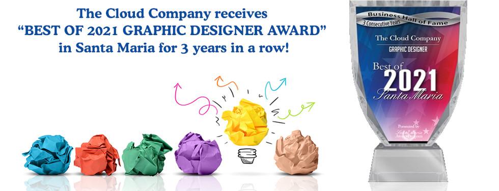 BEST OF 2021 GRAPHIC DESIGNER AWARD
