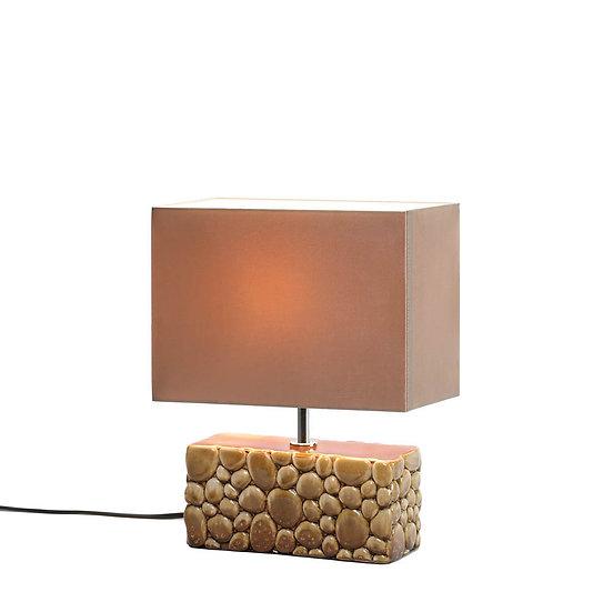 River Rock Table Lamp