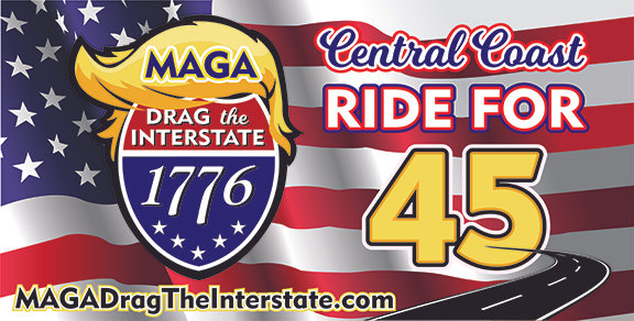 MAGA DRAG THE INTERSTATE #2 Car Magnet 12x24