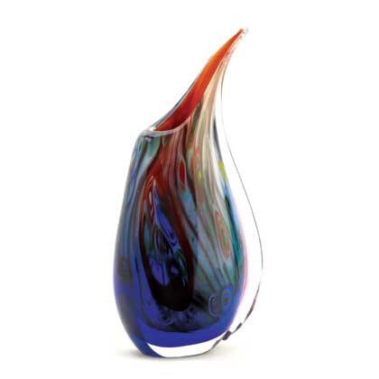 Dreamscape Art Glass Vase