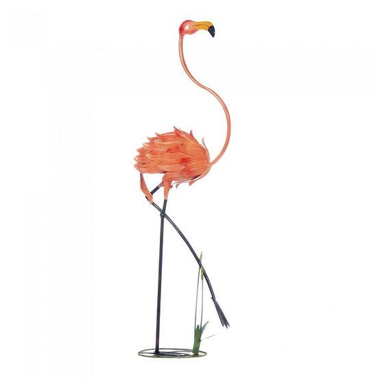 Standing Flamingo Garden Décor