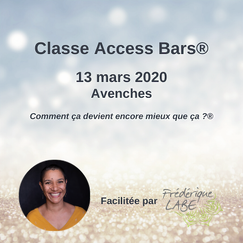 Formation Access BARS® 13 mars 2020