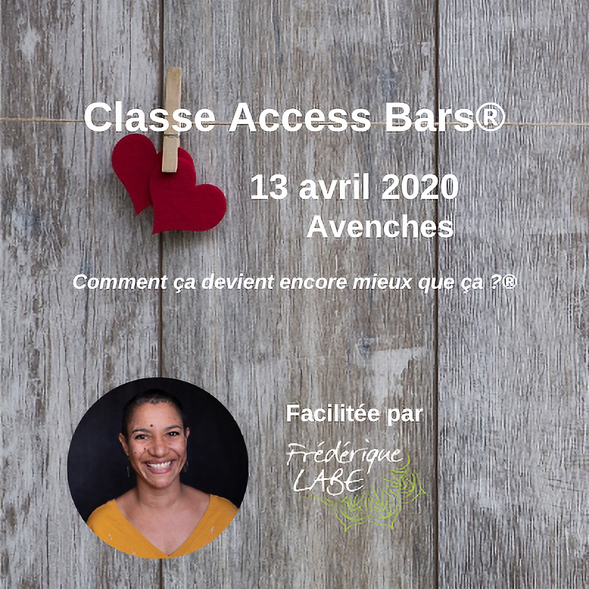 Formation Access BARS® 13 avril 2020