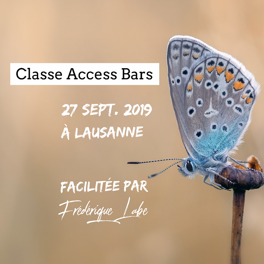 Formation Access BARS® 27 septembre 2019