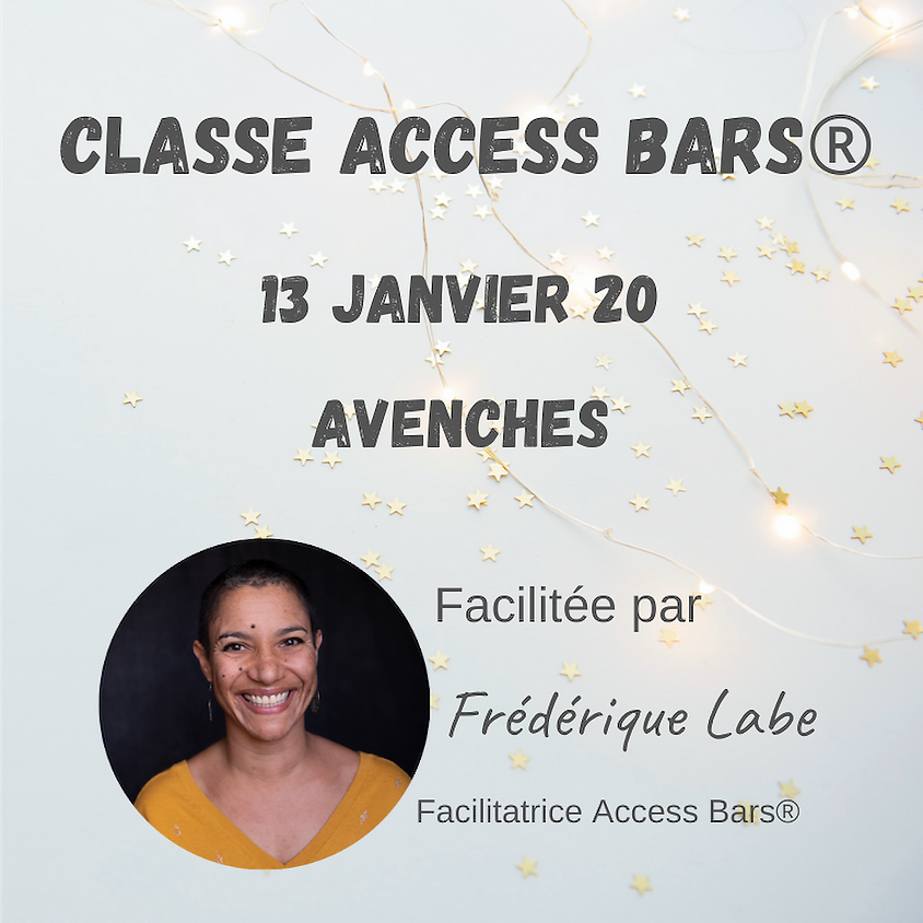 Formation Access BARS® 13 janvier 2020