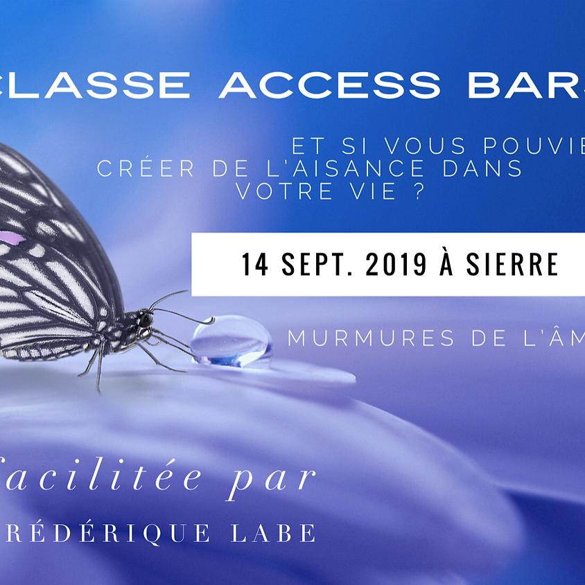 Formation Access BARS® 14 septembre 2019 à Sierre VS