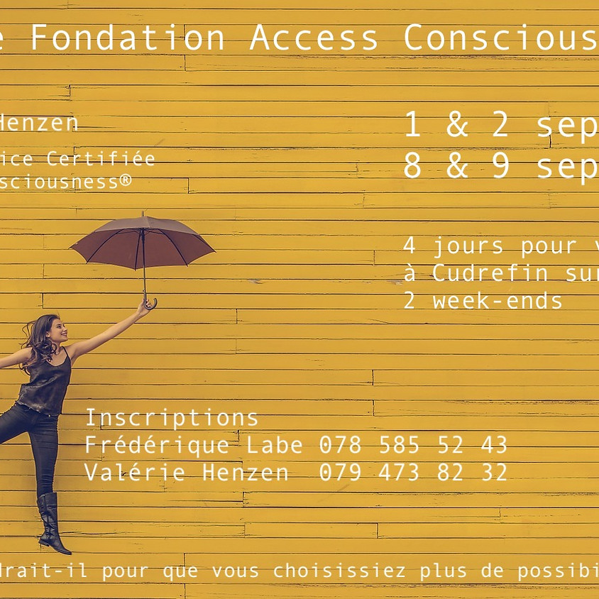 Classe Fondation d'Access Consciousness® 1er week-end