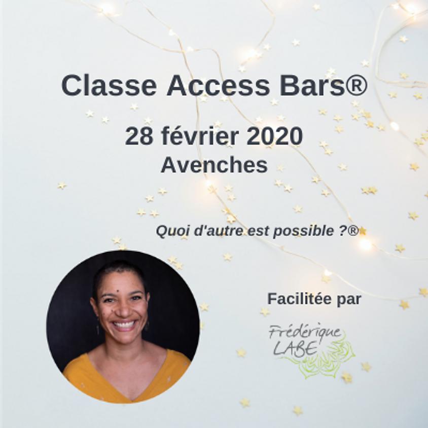 Formation Access BARS® 28 février 2020