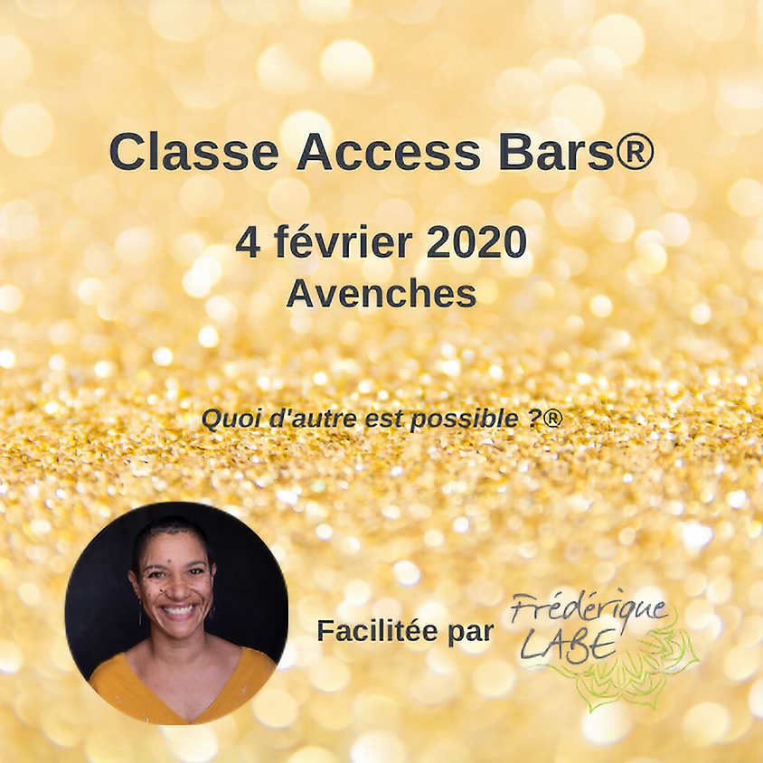 Formation Access BARS® 4 février 2020