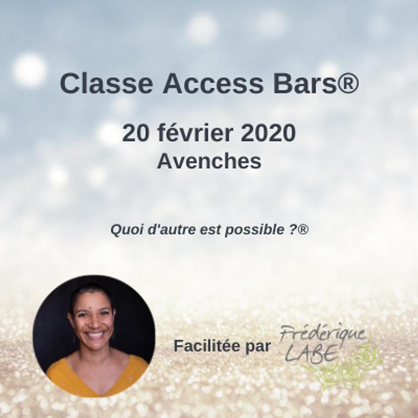 Formation Access BARS® 20 février 2020