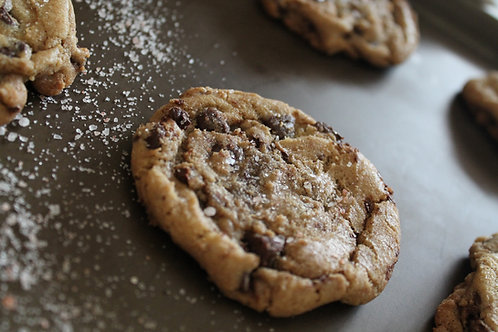 Brown Butter & Sea Salt Chocolate Chip Cookie