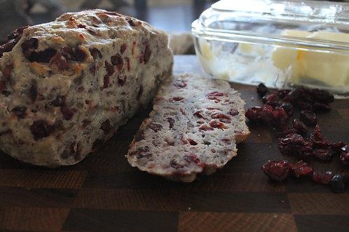 Cranberry Pecan Artisan Bread