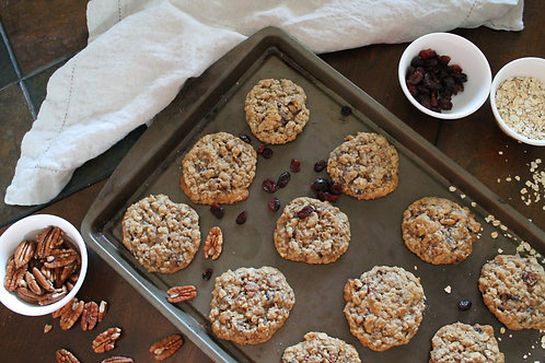 Oatmeal Cranberry Pecan Cookie