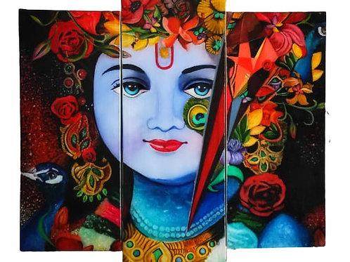 Krishna wall mounted