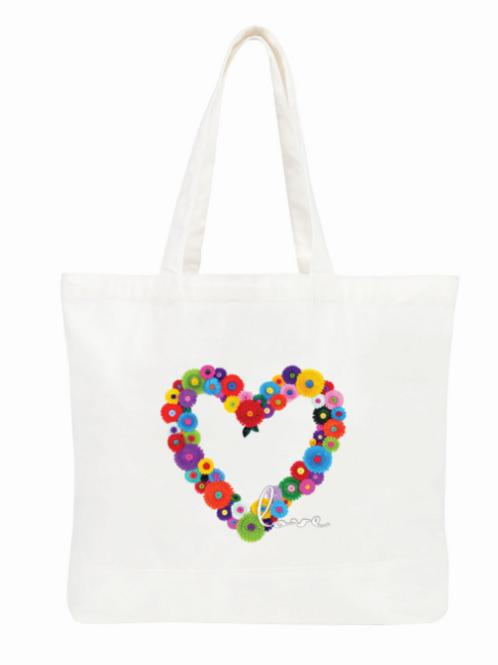Peace/Love Tote bag