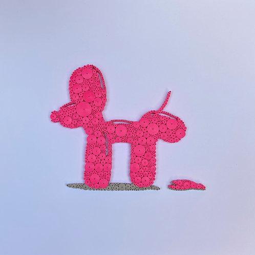 Peeing Balloon Dog