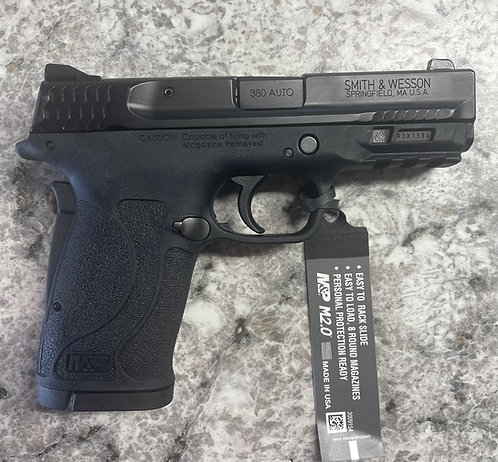Smith&Wesson M&P EZ 380 no thumb safety