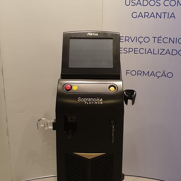 Soprano Platinum Alma Lasers