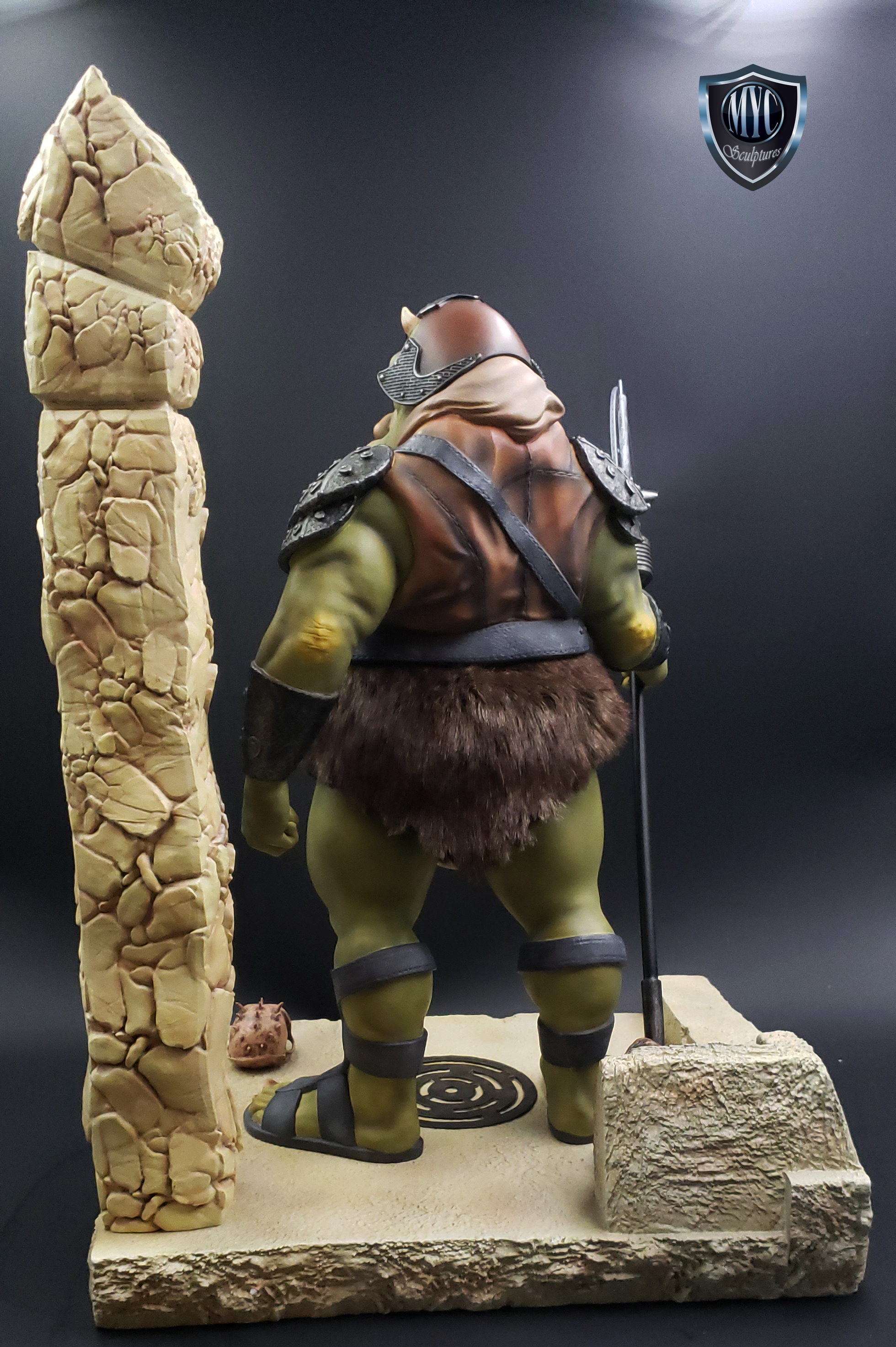 Gamorrean_Guard_MYC_Custom_Statue_05